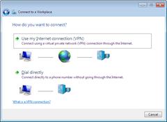 use internet connection vpn