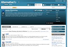 AlternativeTo- alternatives to applications