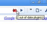  Secbrowsing Extension for Chrome Alerts if Plug ins are Out of Date