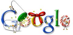 Google Christmas logo 6