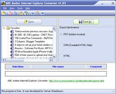 ABC Amber Internet Explorer Converter