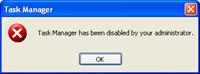 Task Manger _disabled_administrator