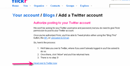 creating twitter account