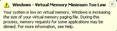 virtual memmory