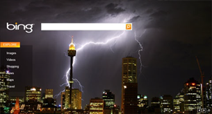bing homepage photo