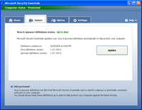 How to Update Microsoft Security Essentials Offline