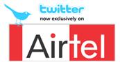 Twiter on Airtel