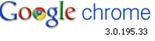 Google Chrome 3.0.195.33