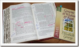studying the word
