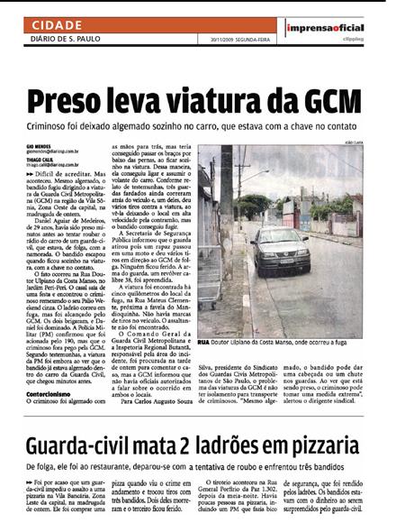 matéria GCM
