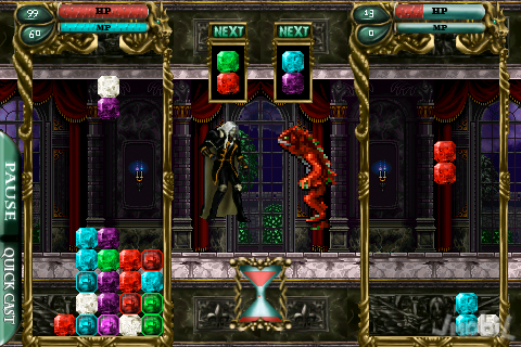 33025-castlevania-puzzle-encore-of-the-night Castlevania para iPhone é bem diferente do esperado