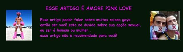 ESSE ARTIGO É PINK LOVE