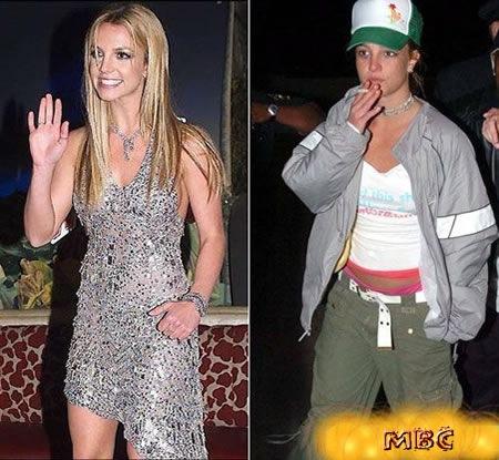Britney Antes e Depois