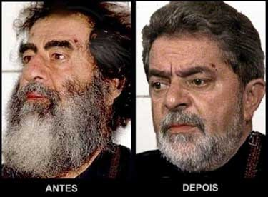 Lula Antes e Depois