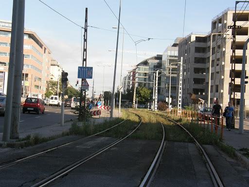 blog, BKV,  Soroksári út,  Budapest,  IX. kerület,  9. kerület, villamos, Ferencváros, sínek, villamospálya