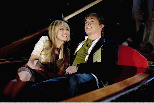 Photo of Jesse McCartney & his friend musician  Miley Cyrus - Longtime
