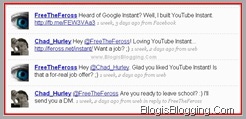 Youtube Instant Feross Hurley Conversation twitter