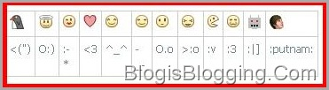 Facebook Smileys chat2