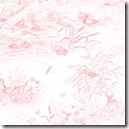 Simple Nature - Scenic Toile Pink #42280-133