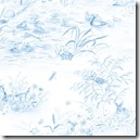 Simple Nature - Scenic Toile Blue #42280-144