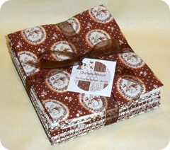 Chelsea Manor Fat Quarter Bundle Brown