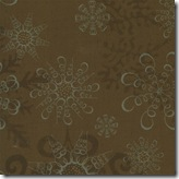 Figgy Pudding - Silent Night Brown #30188-13