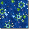 Winter Joy - Snowflakes Blue #220-1