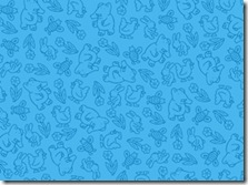 The Poky Little Puppy - Puppy Tonal Blue #20820-B