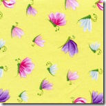 Happy Flowers - Insects Yellow #DD29Yellow