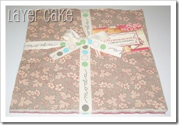 Rouenneries - Layer Cake #13520LC