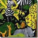 Safari So Good - Animal Toss Black #431K