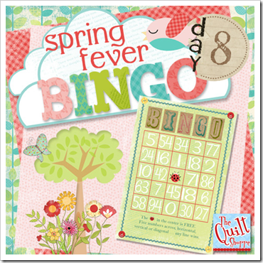 Spring Fever Blog  Bingo Day Eight
