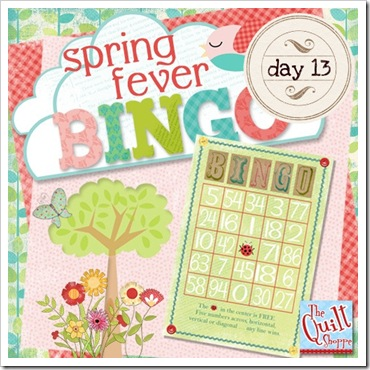 Spring Fever Blog Bingo Day 13