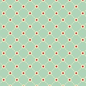 Early Bird - Dottie Diamonds Teal #5039-T