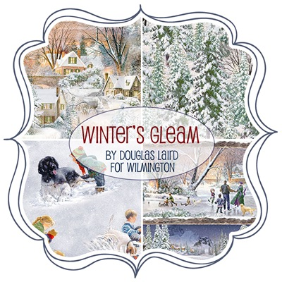 Winter's Gleam by Douglas Laird for Wilmington