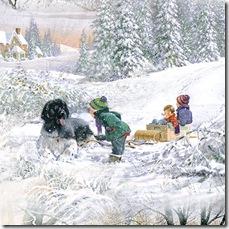 Winter's Gleam - Scenic #17-127