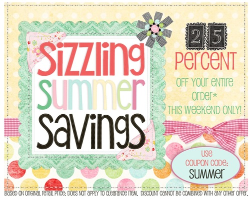 Sizzling Summer Savings at The Quilt Shoppe