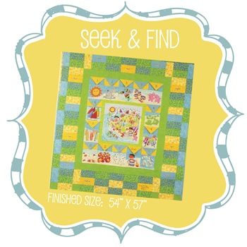 Seek and Find Quilt Kit
