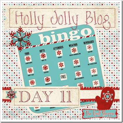 Holly Jolly Blog Bingo ... Day 11