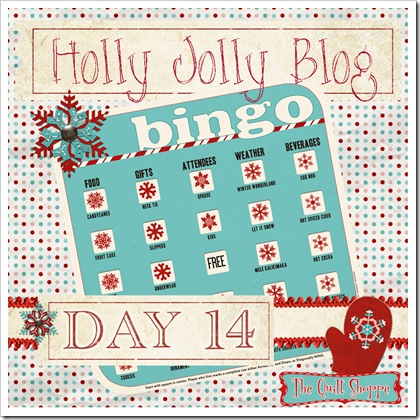 Holly Jolly Blog Bingo ... Day 14