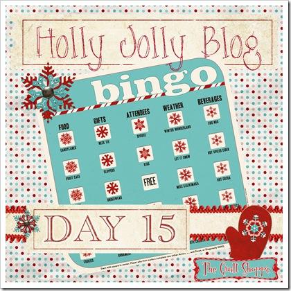 Holly Jolly Blog Bingo ... Day 15