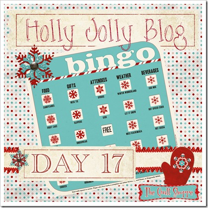 Holly Jolly Blog Bingo ... Day Seventeen