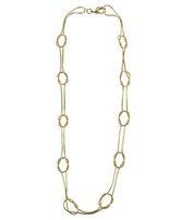 Knotted Snake Chain Necklace by Forever21