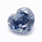 blue diamond จาก Leibish Co.