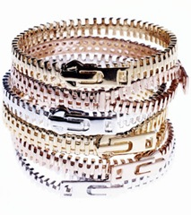 Zip Bangles by Disaya