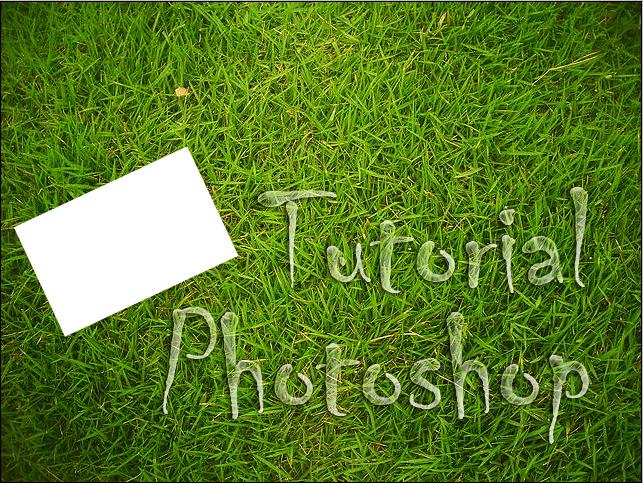 tutorial photoshop - membuat desain dengan photoshop