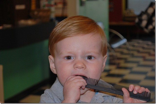 First Haircut 035