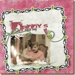 PaperbagStudios Merry Love Kit  FONTS Airstream and Aline
