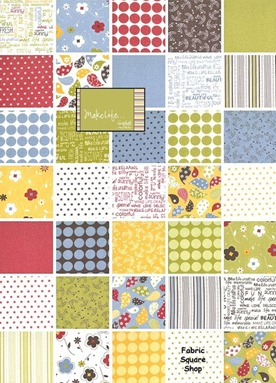 Make Life Sweetwater Fabric