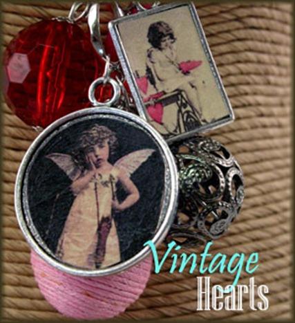 vintage hearts b